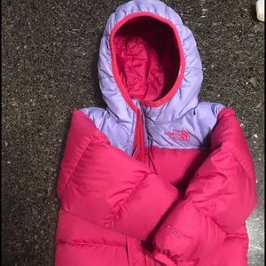 North Face Down Puffer 6-12m